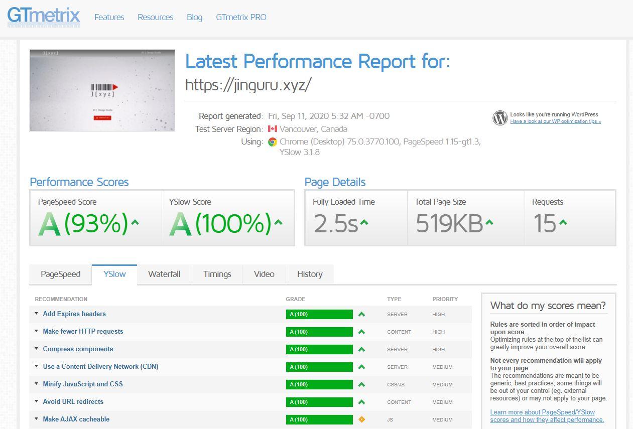 jxyz_hosting_speedtests_20200911_GTMetrix
